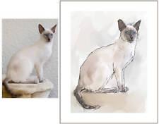 Tierportrait nach Foto, Porträt vom Foto,  Hunden, Katzen, Pferde, Tierbilder
