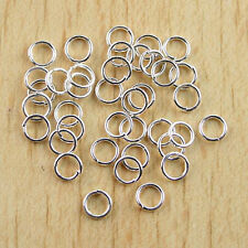 400Pcs Copper tone 5mm open Jump Rings H0425