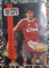 Hofer Alan Hansen 1990/91 plus 8 other ProSet British Soccer Cards Vg+