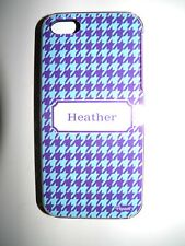 "PERSONALIZED NAME COVER FOR IPHONE 5/5S WITH 2 LAYERS PROTECTION  ""HEATHER"" NEW"
