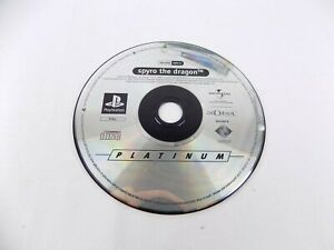 Mint Disc Playstation 1 Ps1 Spyro The Dragon  Free Postage