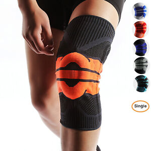 Knee Brace Support Meniscus Arthritis Pain Relief Running Patella Stabilizers