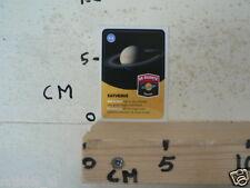STICKER,DECAL SATURNUS PLANEET  SPACE ALBUM CARD