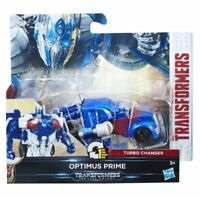 Transformers: The Last Knight 1-Step Turbo Changer Optimus Prime- Brand New