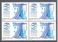 1997 EXPOSICION MUNDIAL DE LA PESCA EDIFIL 3504 ** MNH B4 FISHING        TC12343