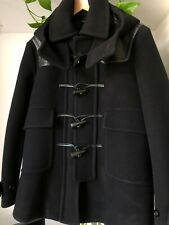 BURBERRY Prorsum Runway Cashmere Bonded Rounded Coat Duffle MensTrench RARE