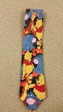 Winnie Pooh by Exquisite Apparel 100% Silk Men's Necktie (T14/B8)