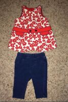 Baby Gap tunic size 0-3M, Circo Jeans 0-3M