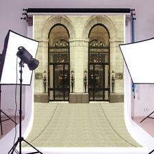 Classical Arch Door Photography Backgrounds 5x7ft Vinyl Studio Photo Backdrops