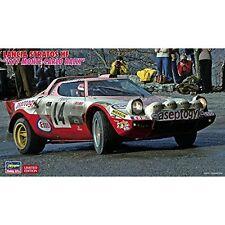 Hasegawa Hg20268 Lancia Stratos HF N.14 6th Monte Carlo 1977 Dacremont-galli Kit