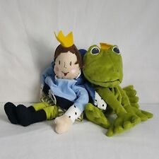 IKEA Kvack Frog & Prince Plush 2 in 1 Transforming Toy Stitched Eyes 10 Inches