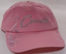 Hat Cap Chevrolet Chevy Corvette Ladies Bedazzled Pink RK