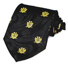 Scottish Rite Freemasonry Mens Neck Tie Mason Necktie 32nd Degree Eagle Gift New
