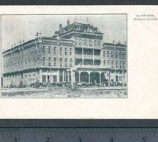 Gunnison 1907 La Veta Hotel Colorado Victorian Wild West Whitepine Colo PostCard