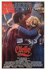 OTELLO (1986) ORIGINAL STYLE B MOVIE POSTER  -  ROLLED