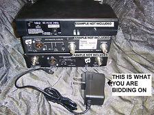 Power supply fr EV wireless mic RE-2,R200,r300,TELEX fmr500 fmr450 ac dc adaptor