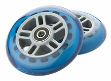 A Scooter Series Wheels with Bearings (set of 2) - Blue