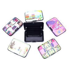 Waterproof ID Credit Card Wallet Holder Aluminum Metal Pocket Case Box FT