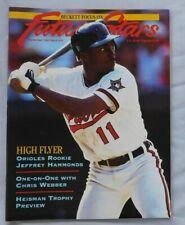 September 1993 Becket Future Stars Jeffrey Hammonds Baltimore Orioles