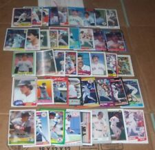DWIGHT EVANS  LOT OF 42 DIFF CARDS(1981-92) 81 TOPPS/81 DONRUSS/81 FLEER