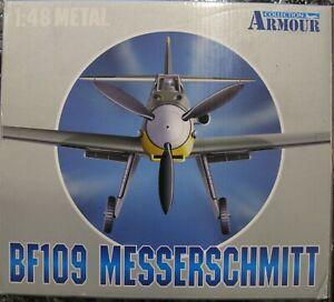 Franklin Mint Armor 98010 1:48 Scale Messerschmitt BF 109 Luftwaffe WWII Aces