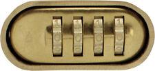 3 Master Lock 175 Set Your Own Combination 4 DIGIT Padlock Brass Prioritys&h