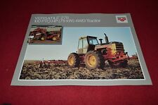 Versatile 276 Tractor Dealers Brochure YABE4