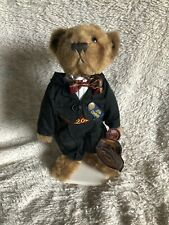 Pickford Brass Button Bear Dex 2000 Millenium Bear WITH STAND & TAGS.