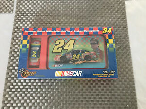 Winner's Circle Nascar Jeff Gordon #24 Limited Edition Collectible Tin w/Cards