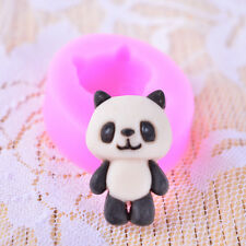 Panda Silicone Mold Cake Chocolate Fondant Decorating Tool DIY Sugarcraft Resin