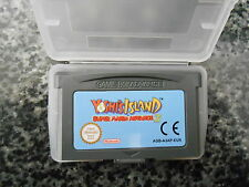 GBA CARTRIDGE SUPER MARIO ADVANCE 3 YOSHI'S ISLAND AND PROTECTIVE CASE