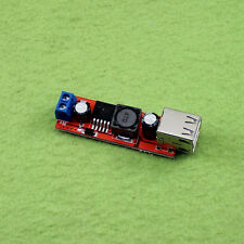 Dual USB Output DC-DC Step Down Power Module 9V/12V/24V/36V to 5V USB 3A