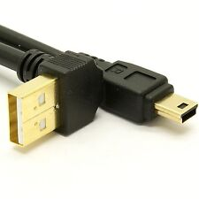 USB 2.0 Up Angle A to Mini-B Cable