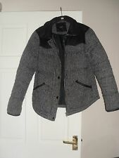 Ladies/Women's Next Padded Coat Size 10 Jacket Wool Blend