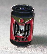 Metal Enamel Pin Badge Brooch Simpsons Duff Beer Ale Cartoon