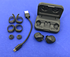 Jabra Elite Sport True Wireless In-Ear Black Headphones 13.5 H w/ Accessories
