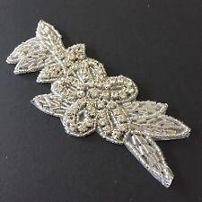 Beaded Rhinestone Applique Tutu Stage Dance Costume Wedding Bridal Headpiece