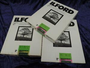 ILFORD Photographic Paper Multigrade FB 8x10 200+ Sheets See Description