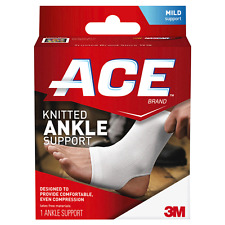 ACE Knitted Knee Support, Small/Medium, 1 Count