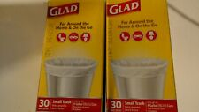 Glad 4 gallon Small Trash Bags - 30ct - Pack of 2
