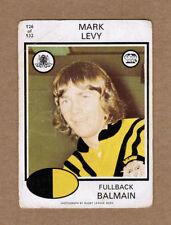 Balmain Tigers 1975 Season NRL & Rugby League Trading Cards
