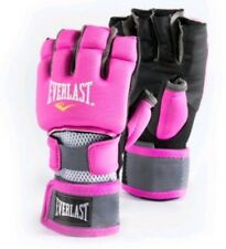 Everlast Womens Pink Sz S/M Kickboxing Weightlifting Fitness Glove EverCool Mesh