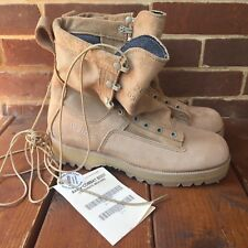 Wellco Boots 8R Combat Gore Tex Vibram Military Tan Temperate Hot Weather Type 2