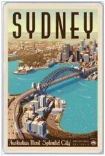 SYDNEY - JUMBO FRIDGE MAGNET - HARBOUR BRIDGE NEW SOUTH WALES AUSTRALIA ASHES