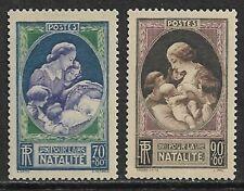 FRANCE 1939 Birth Rate Fund SG 650-651 MH/* (CV £11)