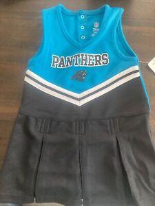 Carolina Panthers Kids Dress Cheer 3t