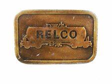 597ms-21.3ms Relco Locomotives Laiton Boucle Ceinture par Frappé Évasé USA 72816