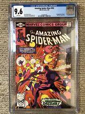 Amazing Spider-Man #203 Marvel Comic CGC 9.6 WP 3rd Appearance Dazzler