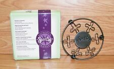 "Authentic Scentsy Product - Round 5"" (inch) Flower Warmer Stand w/ Box **READ**"