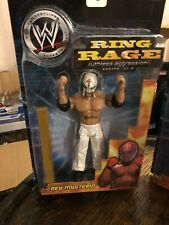 WWF/WWE - Jakks Ring Rage - Wrestling Figure - Rey Mysterio
